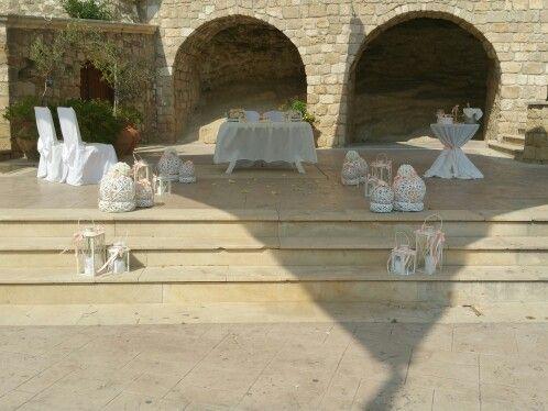 Официальная свадьба в садах Афродиты в Пафосе.