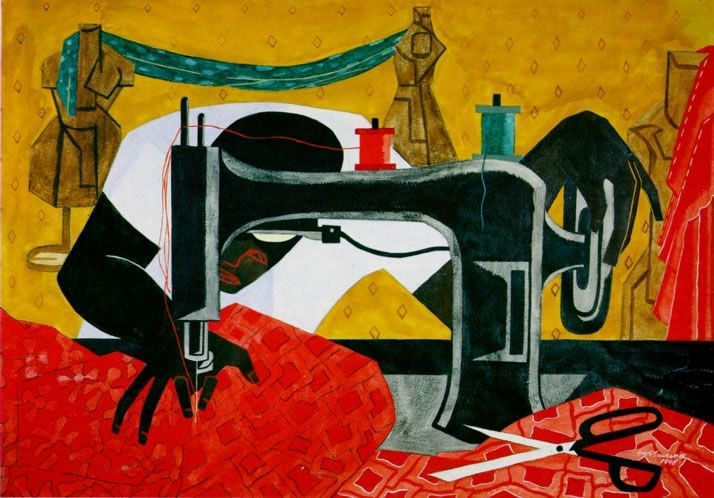 Google Image Result for http://giveusart.files.wordpress.com/2012/02/jacob-lawrence-the-seamstress.jpg