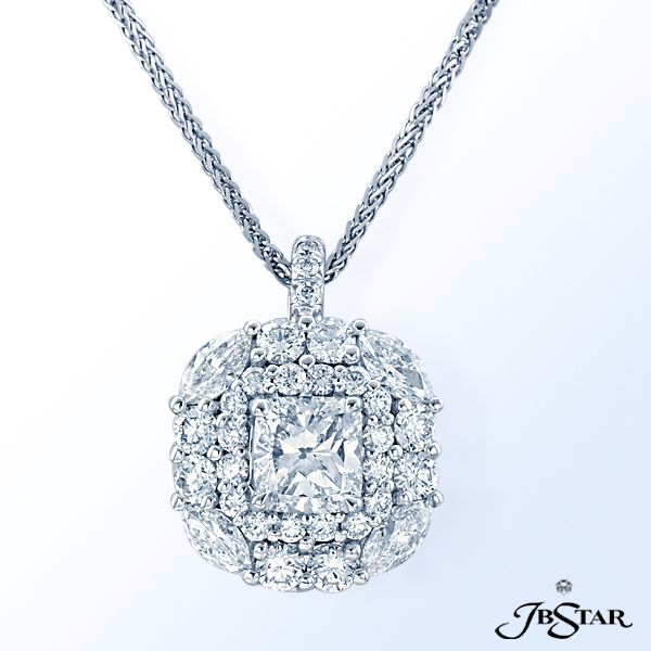 45 best diamond fancy color diamond pendants images on pinterest style 2473 platinum and diamond pendant featuring a beautiful 121 ct cushion cut diamond encircled mozeypictures Image collections
