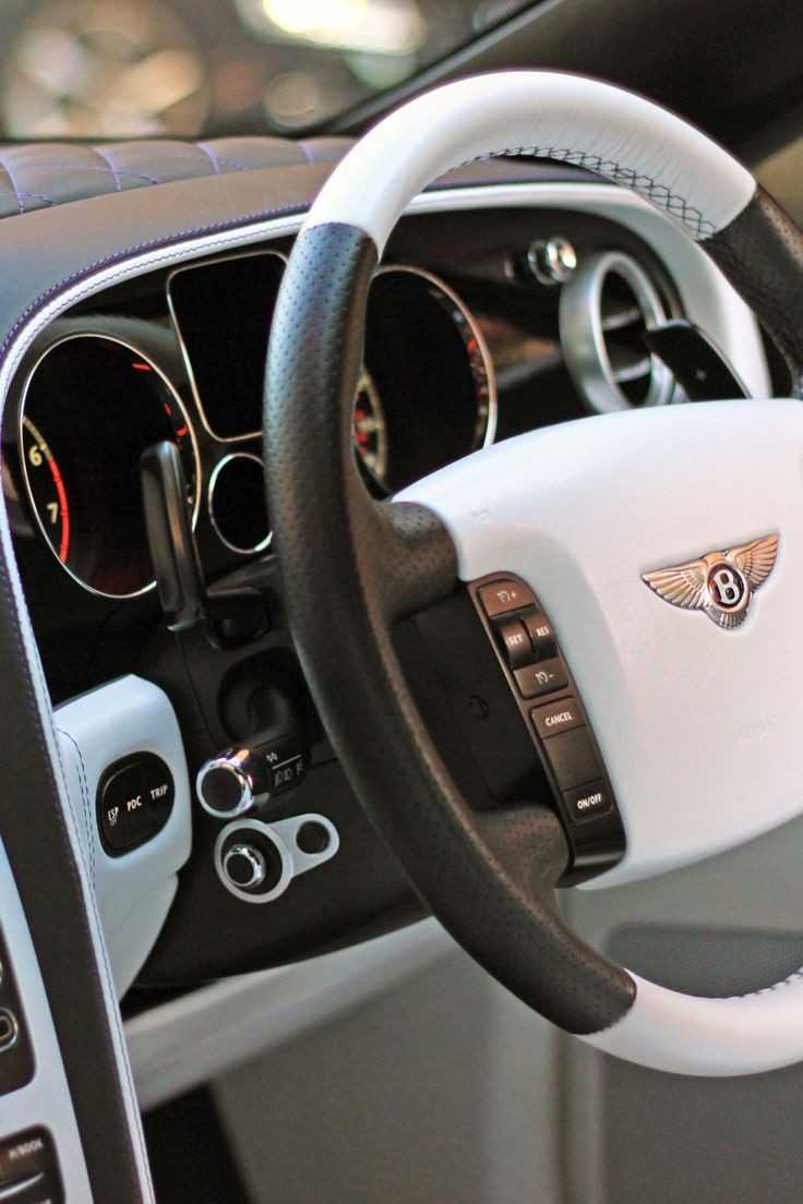 Bentley Continental GT Speed Interior