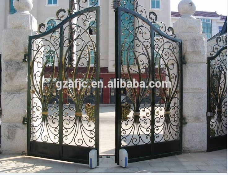 New Design Gate For Houses,Metal Home Gates,Metal Gate Design,Lviba Electric