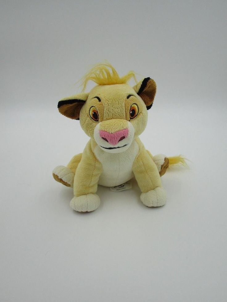 Plush SIMBA, stuffed Simba, Lion King toy, plush Lion King, Disney Store lion #Disney