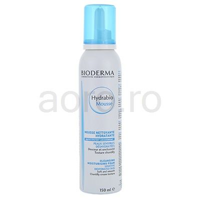 Bioderma Hydrabio Mousse, spuma de curatat pentru piele deshidratata   aoro.ro
