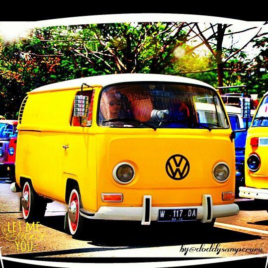 vw bus road road