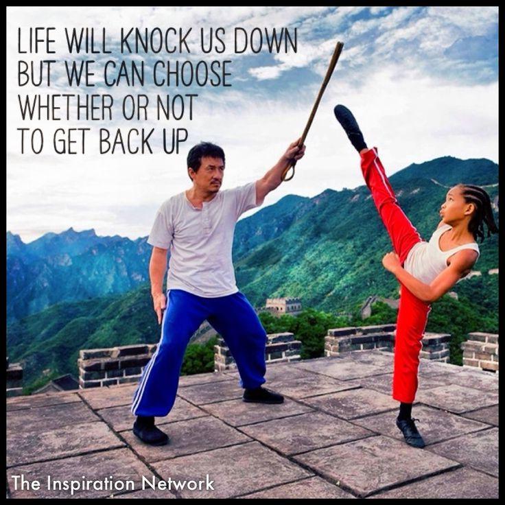 Life Knocks You Down Karate Kid