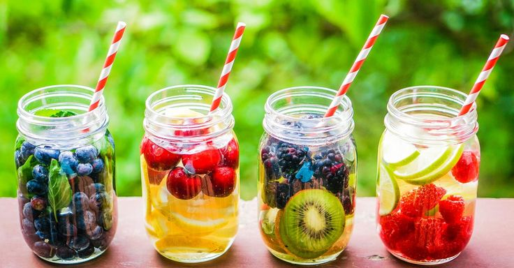 Drinking detox water loaded with vitamins can positively give you a flat stomach and clear skin. Here are a few detox recipes, read more.