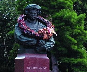 Rembrandt  in Leiden