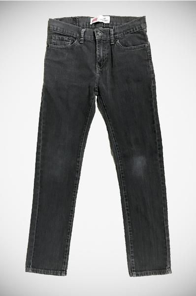 VintageLevi's 510 Black Jeans. These cool black jeans are in a Super Skinny fit and a perfect pair to dress up or down for day and night! Size:27 R