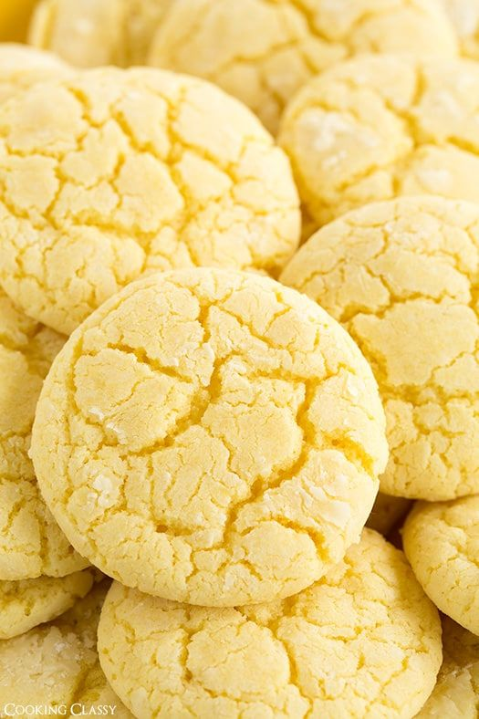 If it's lemon it's all mine. So that must mean I get this entire batch of cookies to store away for myself. I used to hate pretty much anything lemon when