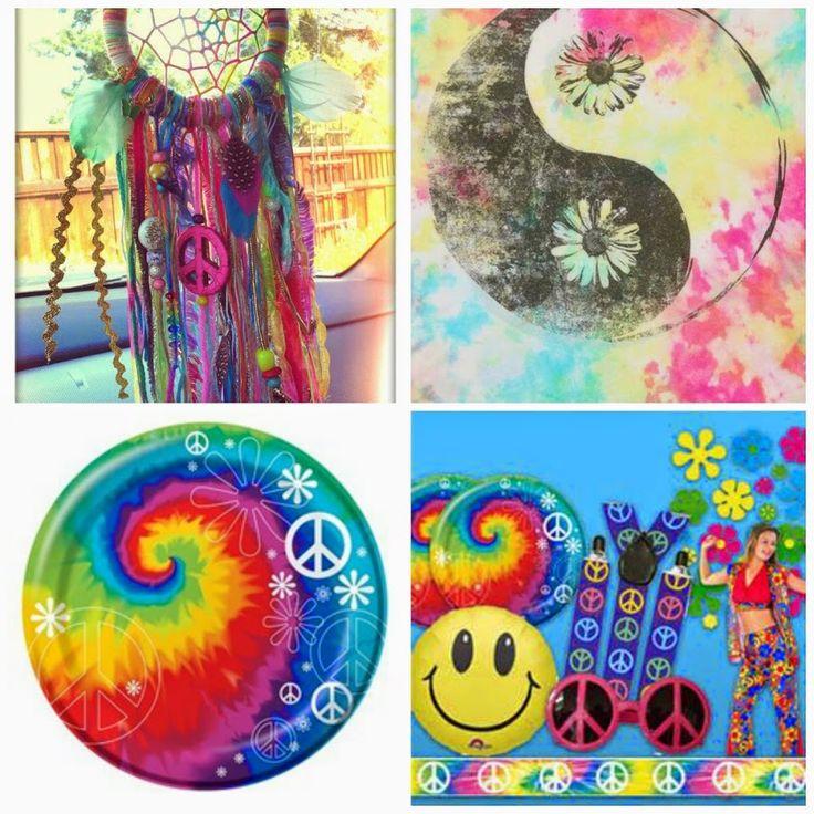 Como decorar una fiesta hippie hippies diy y - Fiestas hippies decoracion ...