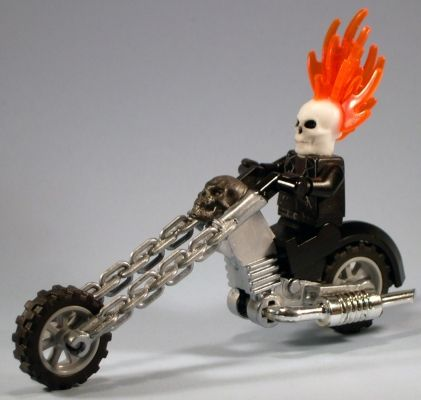 Ghost Rider by Jared Burks and Emily Brownlow | The Brothers Brick | LEGO Blog