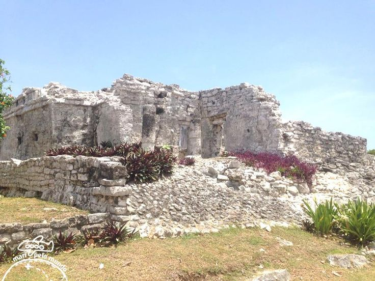 As ruínas de Tulum