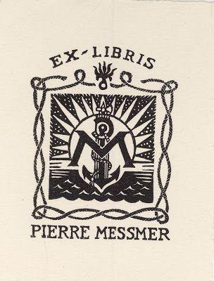 EX-LIBRIS- Pierre MESSMER