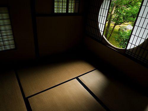 tearoom in the afternoon (Bundain temple, Kyoto) by Marser, via Flickr