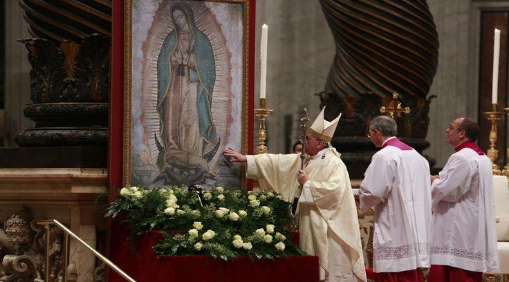 Entrevistado por Televisa, al cumplir su segundo año como Obispo de Roma, el Papa Francisco realizó una catequesis sobre el significado de la Virgen de Guadalupe para los cristianos.