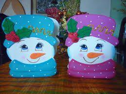 Resultado de imagen para sorpresas navide as en foami - Sorpresas para navidad ...