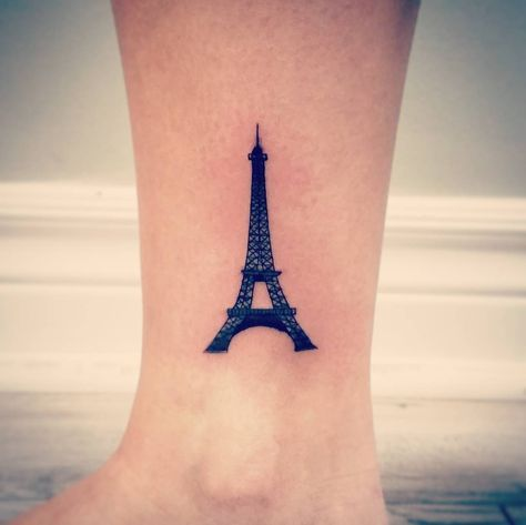 15 Eiffel Tower Tattoos For People Who Truly Adore Paris