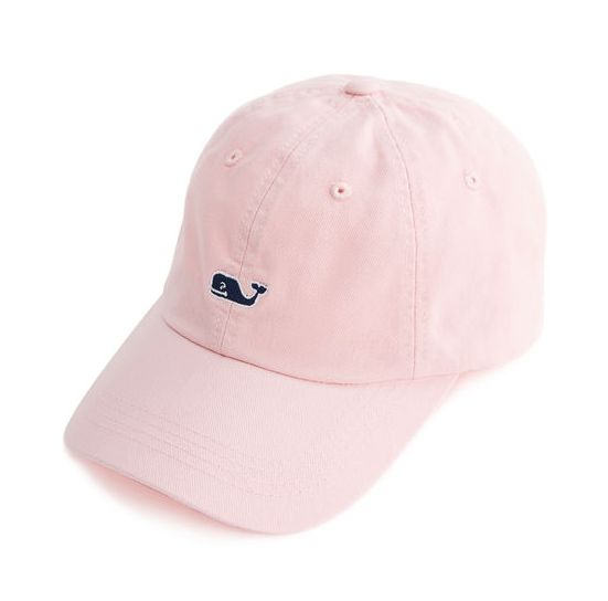 MARIA: Vineyard Vines Whale Logo Baseball Hat - light pink, teal, navy blue (you choose color)