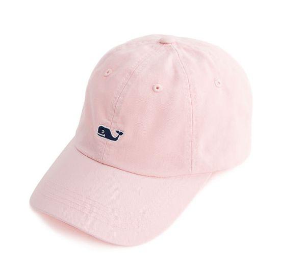 MARIA: Vineyard Vines Whale Logo Baseball Hat - light pink, teal, navy blue (you choose color)