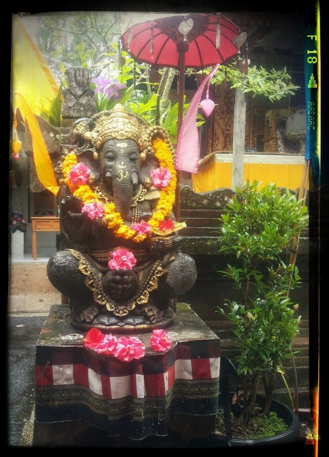 Ganesha statue in Ubud, Bali