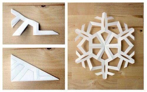 Corte copó de nieve