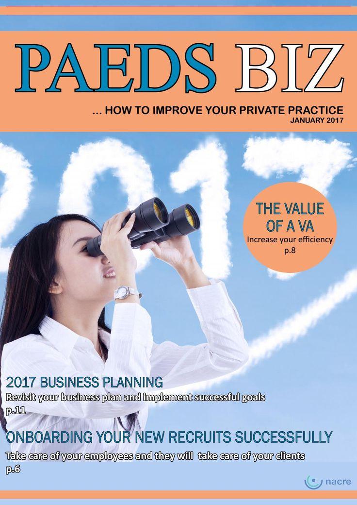 Paeds Biz E-Magazine - January Edition 2017