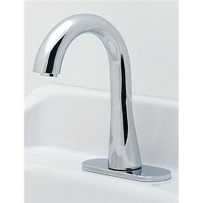 Toto Gooseneck EcoPower Bathroom Faucet With 60 Second Discharge, Polished  Chrome