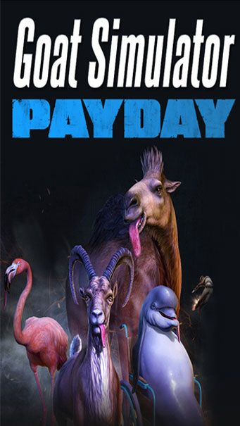 Goat Simulator PAYDAY game review for iPhone & iPad.