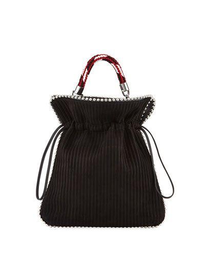 Black Big Trilly shoulder bag Les Petits Joueurs q5Zq2q