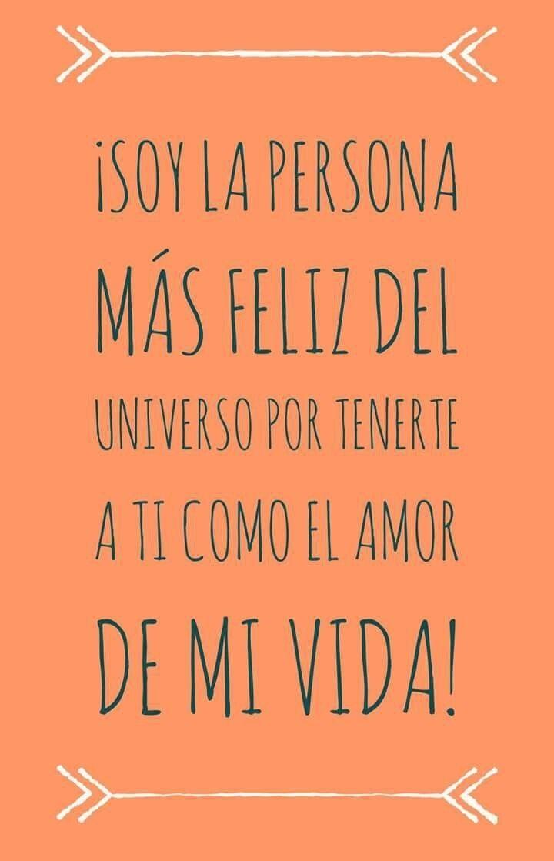 De Amor Cortos 1001 Frases De La Vida Pinterest Love Quotes