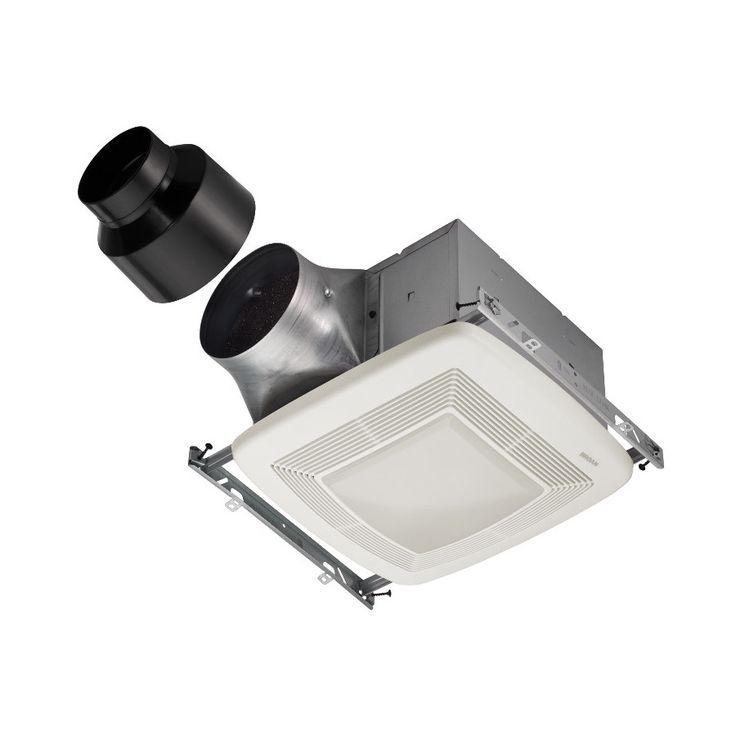 Shop Broan 0 3 Sone 110 Cfm White Bathroom Fan Energy Star: 1000+ Ideas About Bathroom Fans On Pinterest