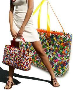 #ECOIST le #borse #ecofashion dalla storia singolare, un'idea #ecochic dalla periferia di Città del Messico #moda http://www.ecoy.it/ecoist