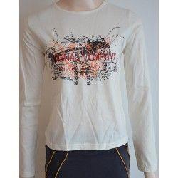 Rosebud dámské tričko, dlouhý rukáv béžové S