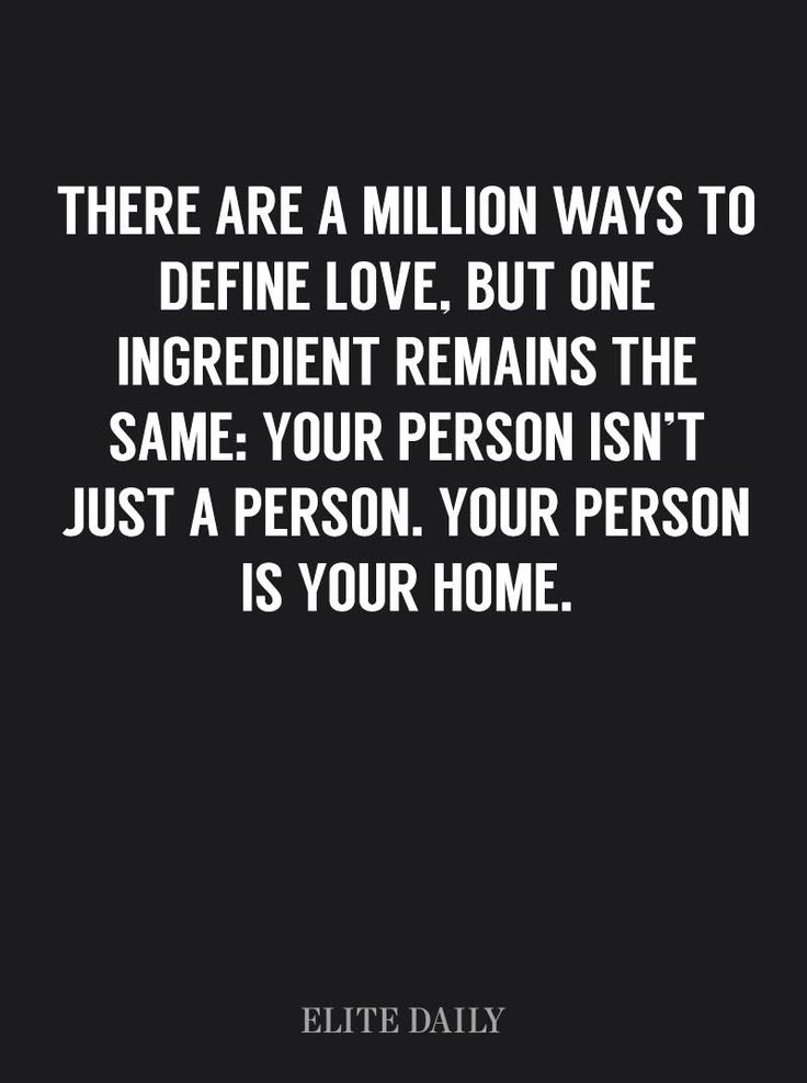 You Know You're In Love When Home Becomes A Person, Not A Place #soulmates #definelove #home