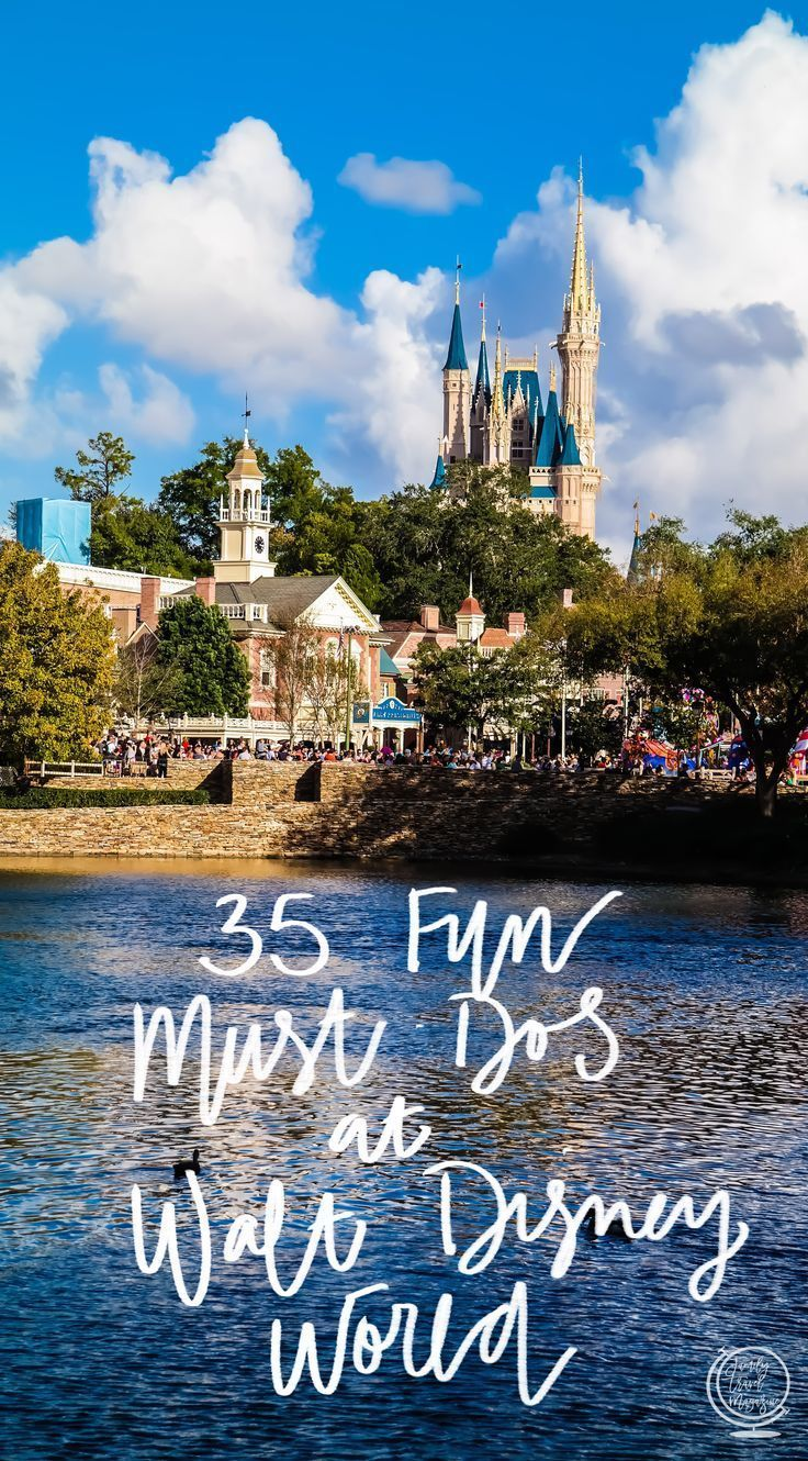 There are so many fun things to do at Walt Disney World for adults and kids that it can be hard to know which to do while on vacation. Check out our list of 35 Must-Dos at Disney including tips, activities, food, shopping, special events, and more! #ad #f