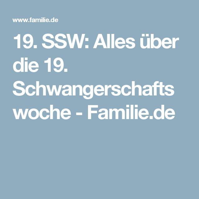 19. SSW: Alles über die 19. Schwangerschaftswoche - Familie.de
