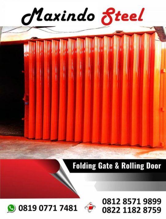 folding gate rolling door pulo gadung