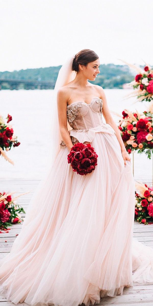 5231 best wedding dresses images on pinterest wedding for Disney line wedding dresses