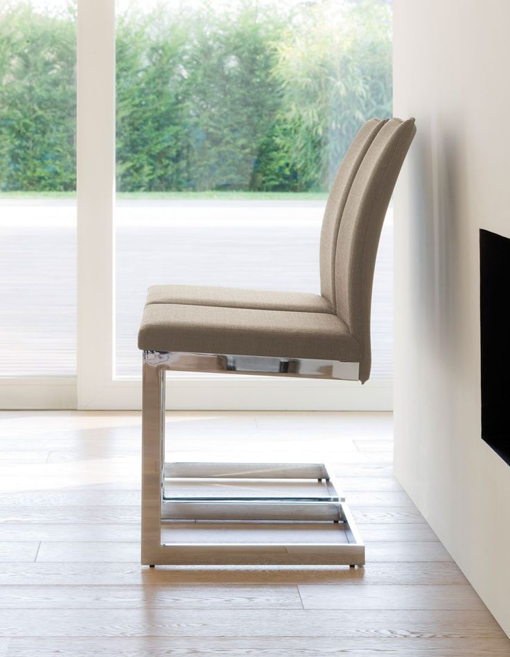 The essential and geometric lines of the steel frame are softened by the comfortable seat. A versatile and functional chair expressing elegance within a modern concept of living.  http://www.antonelloitalia.it/en/products/chairs-stools/sonia/?utm_content=bufferf263b&utm_medium=social&utm_source=pinterest.com&utm_campaign=buffer  #AntonelloItalia #LuxuryItalianDiningChairs #ItalianDesignerFurniture