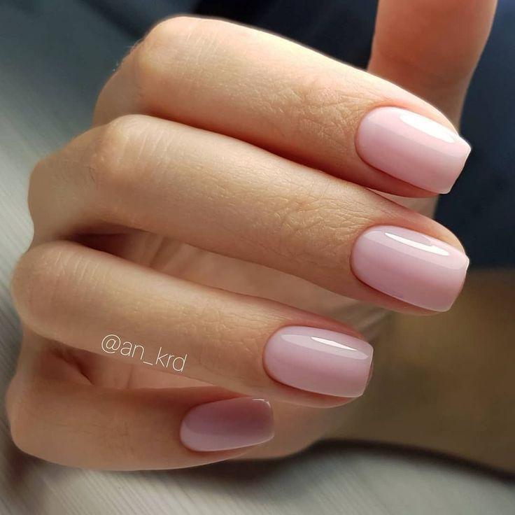 Ziemlich rot auf kurzen Nägeln #nail #manicure #nailpolish #nailart – Beauty♥
