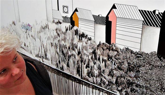 Turkulainen kuvataiteilija Johanna Sinkkonen on miettinyt paljon sitä, miten eri tavoin me ihmiset näemme ympäristömme.