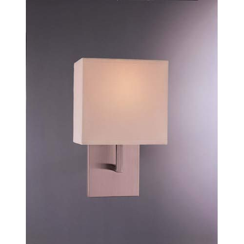 Brushed Nickel Wall Sconce With Fabric Shade : 26 best images about N Halifax on Pinterest
