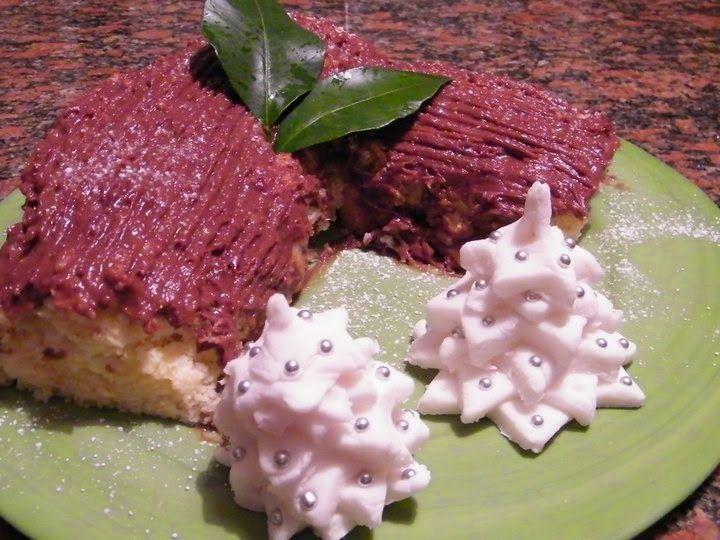 Queste pagine: Tronchetto di Natale al cioccolato