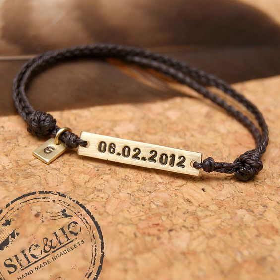 brass bracelet, metal work, macrame bracelet, personalized bracelet