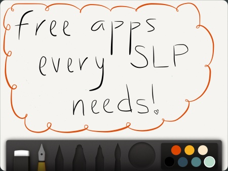 Must have FREE apps for SLP's!