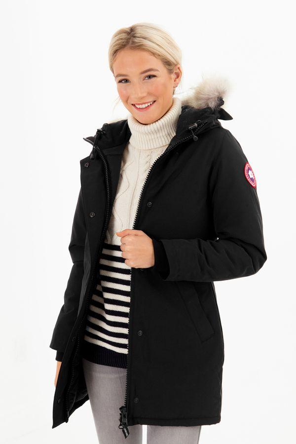 Canada Goose Victoria Parka in Black | REVOLVE