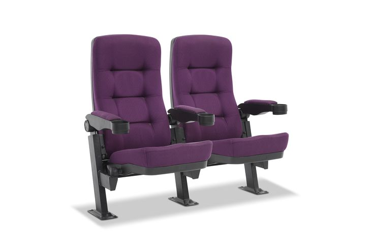 SCHUBERT: Ergonomically designed for optimum comfort, the Schubert is a great choice for cinemas or theatres. With high density cold moulded foam from Germany, and a contoured seat cushion, this chair is designed for ultimate comfort.