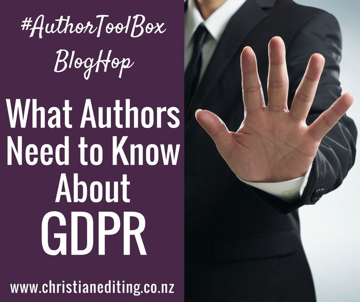 What Authors Need to Know About GDPR: If you have an email list, you need to know what the new EU General Data Protection Regulation is, and how it might affect you.