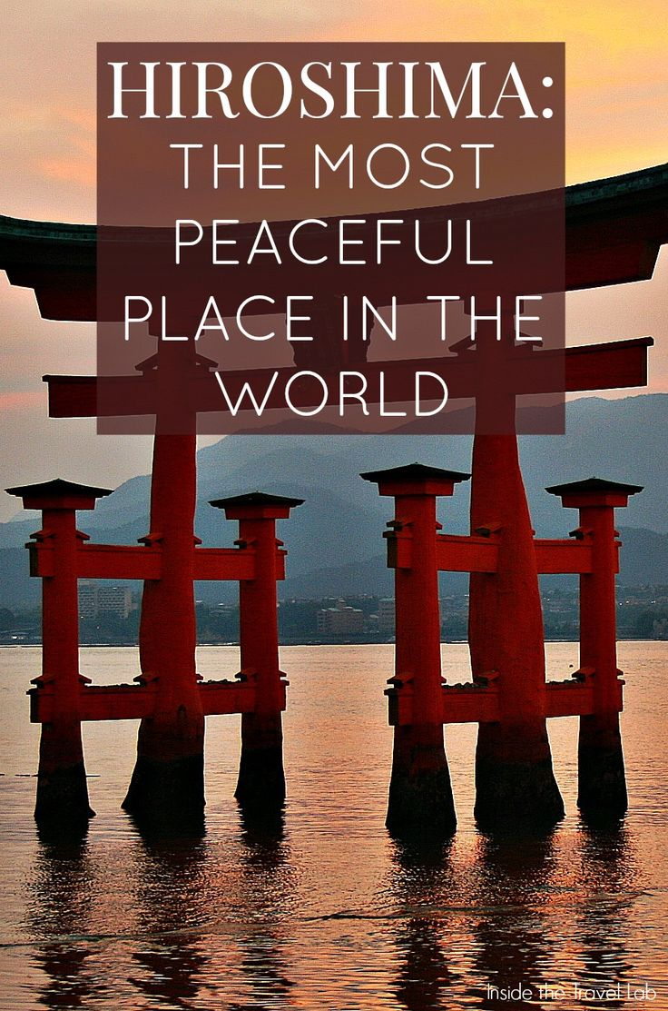 Today's Hiroshima, a city that was once synonymous with a despicable act of horror, now reveals a thriving community and all the trappings of a healthy, happy place. Via @insidetravellab http://www.insidethetravellab.com/peaceful-miyajima-island-hiroshima/