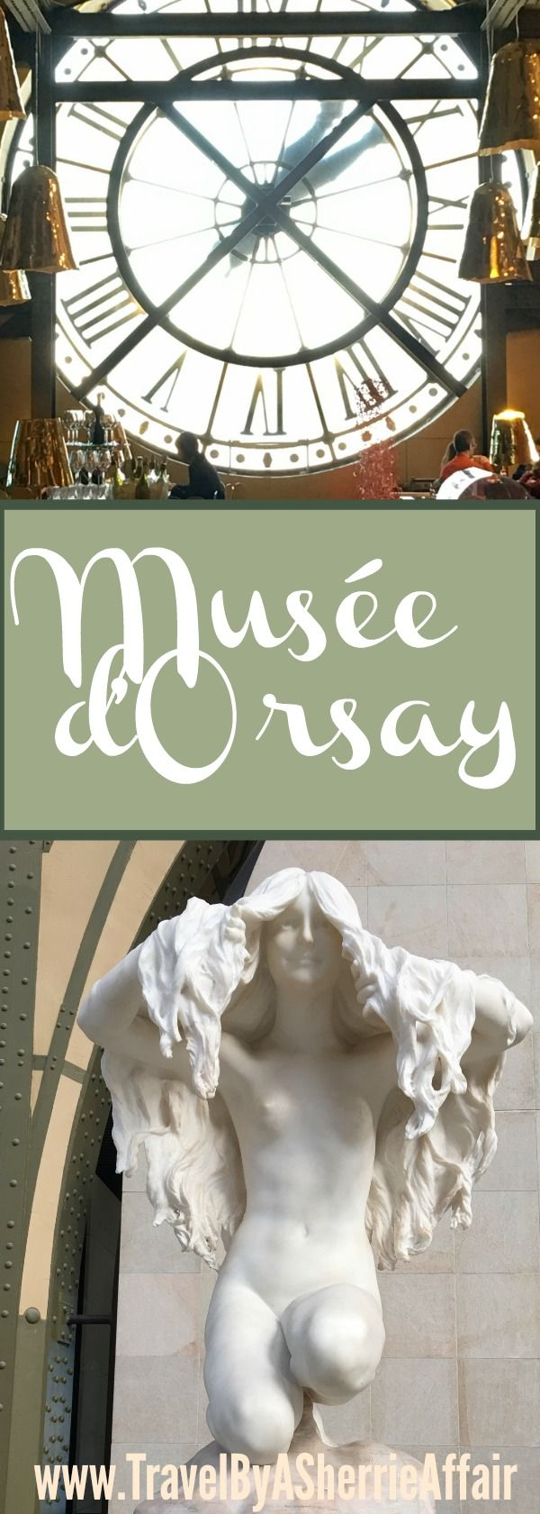 Musée d'Orsay in Paris, France is one of my favorite museums in the world.  Filled with Impressionism artwork an entire day can be spent there just marveling at all the talent.